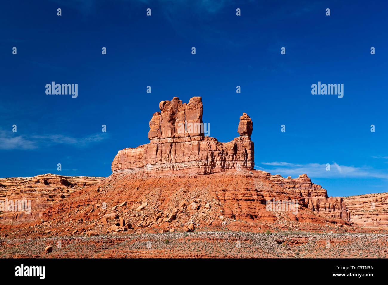 Estados Unidos, Utah, Valle de los dioses, paisaje desértico Imagen De Stock