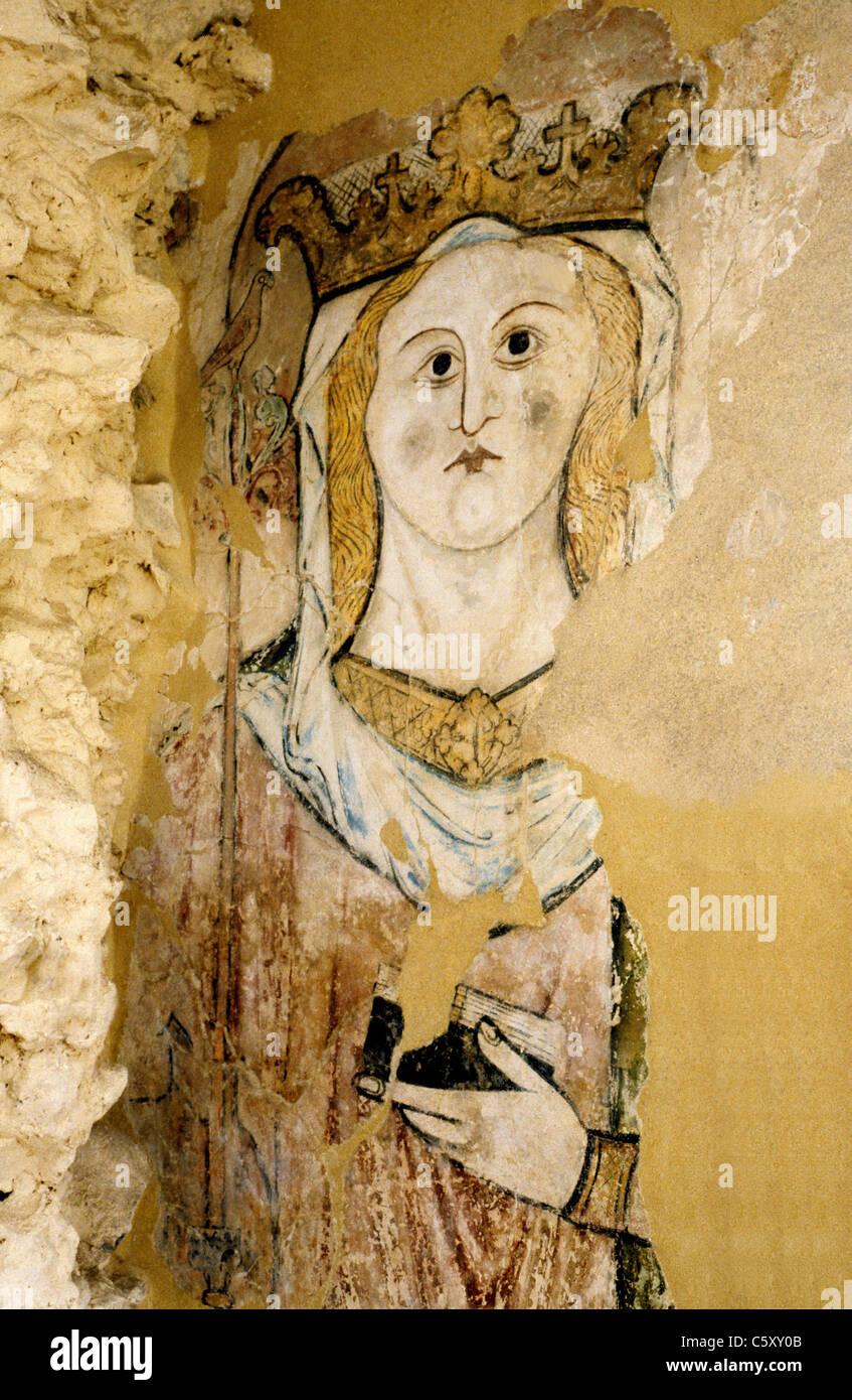 Norfolk Saint Saints Paintings Imágenes De Stock & Norfolk Saint ...