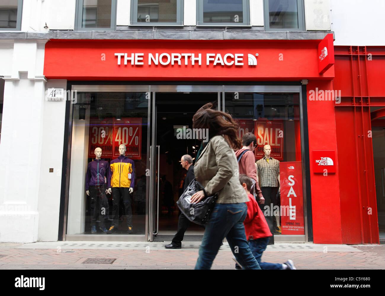 tienda north face dublin