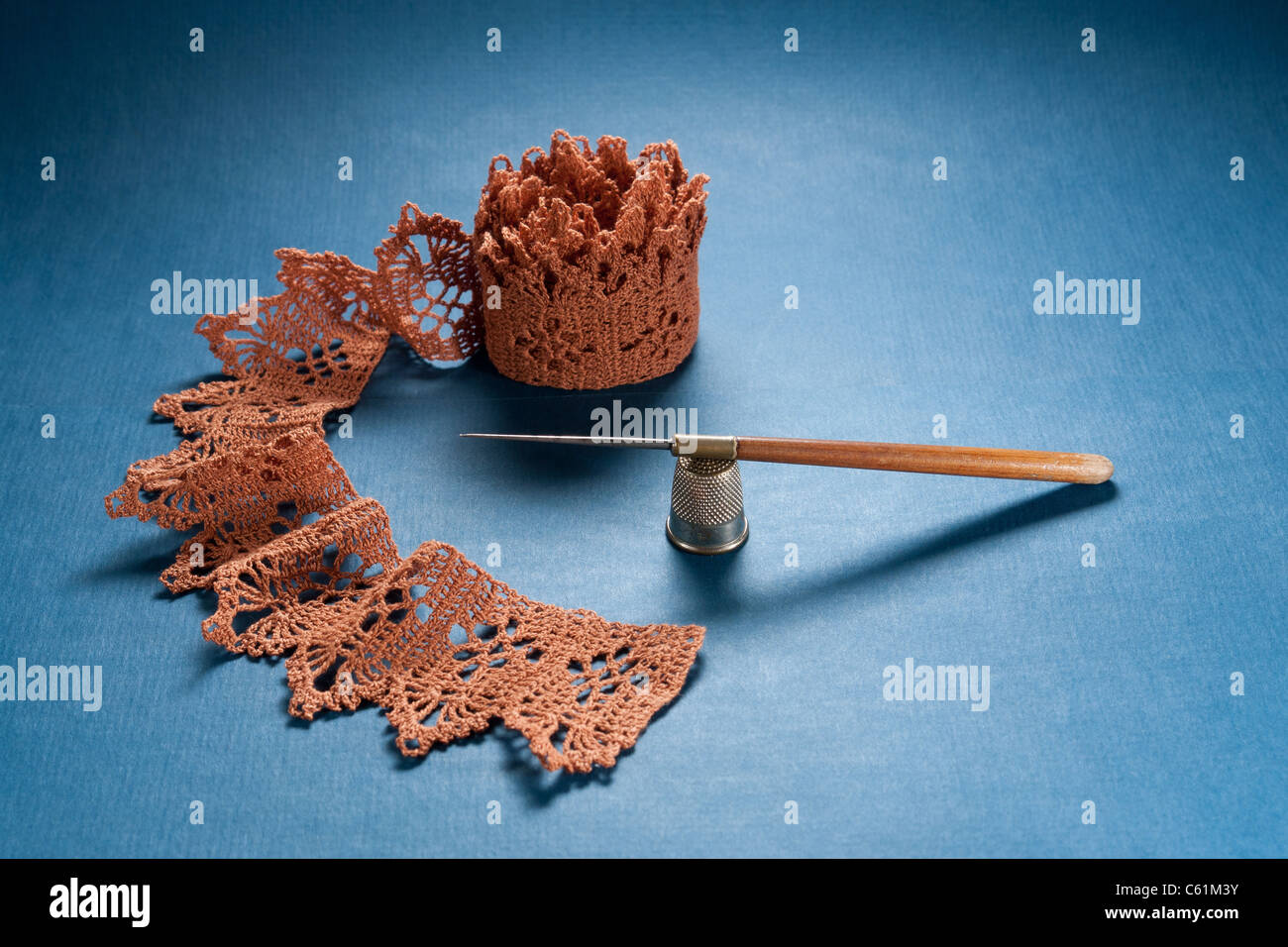 Crochet Lace Imágenes De Stock & Crochet Lace Fotos De Stock - Alamy