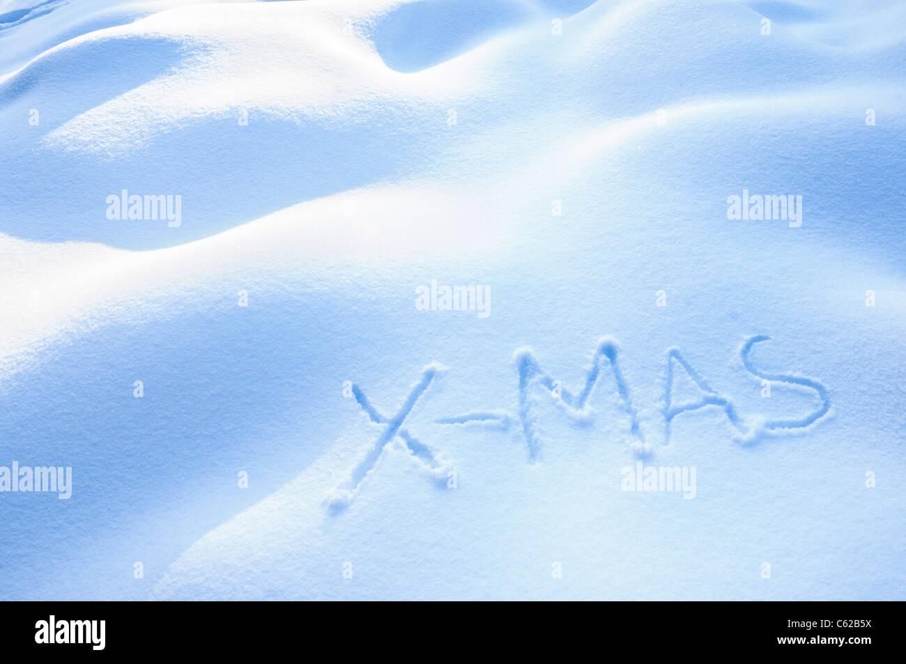 Navidad en la nieve Imagen De Stock