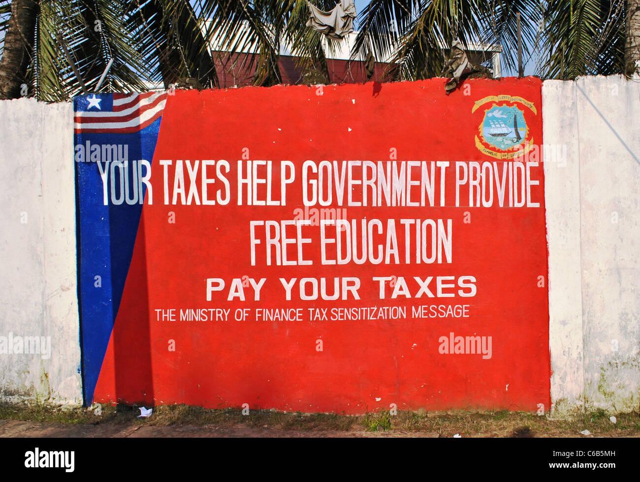 Monrovia, Liberia Imagen De Stock