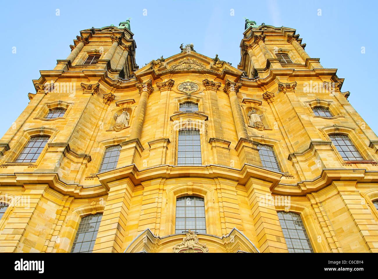 Basilika Vierzehnheiligen - Basílica de los catorce Ayudantes Santo 01 Imagen De Stock