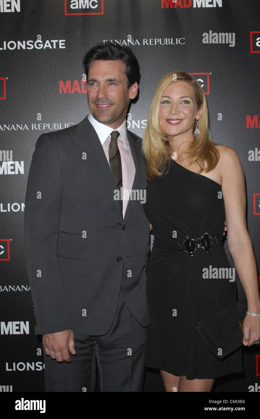 Jon Hamm y Jennifer Westfeldt de AMC \'Mad Men\' Temporada 4 ...