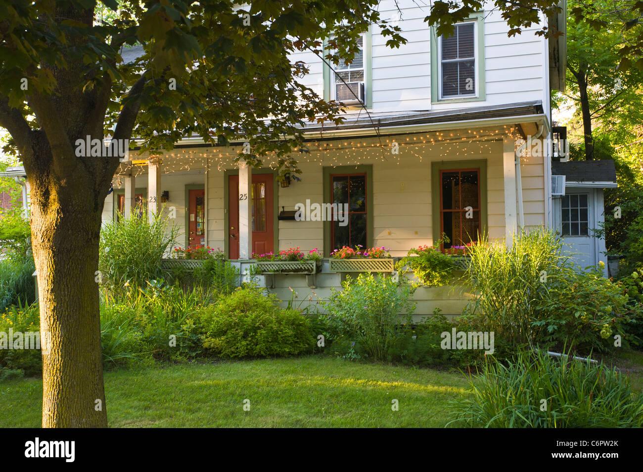 Casa en Woodstock Nueva York Imagen De Stock