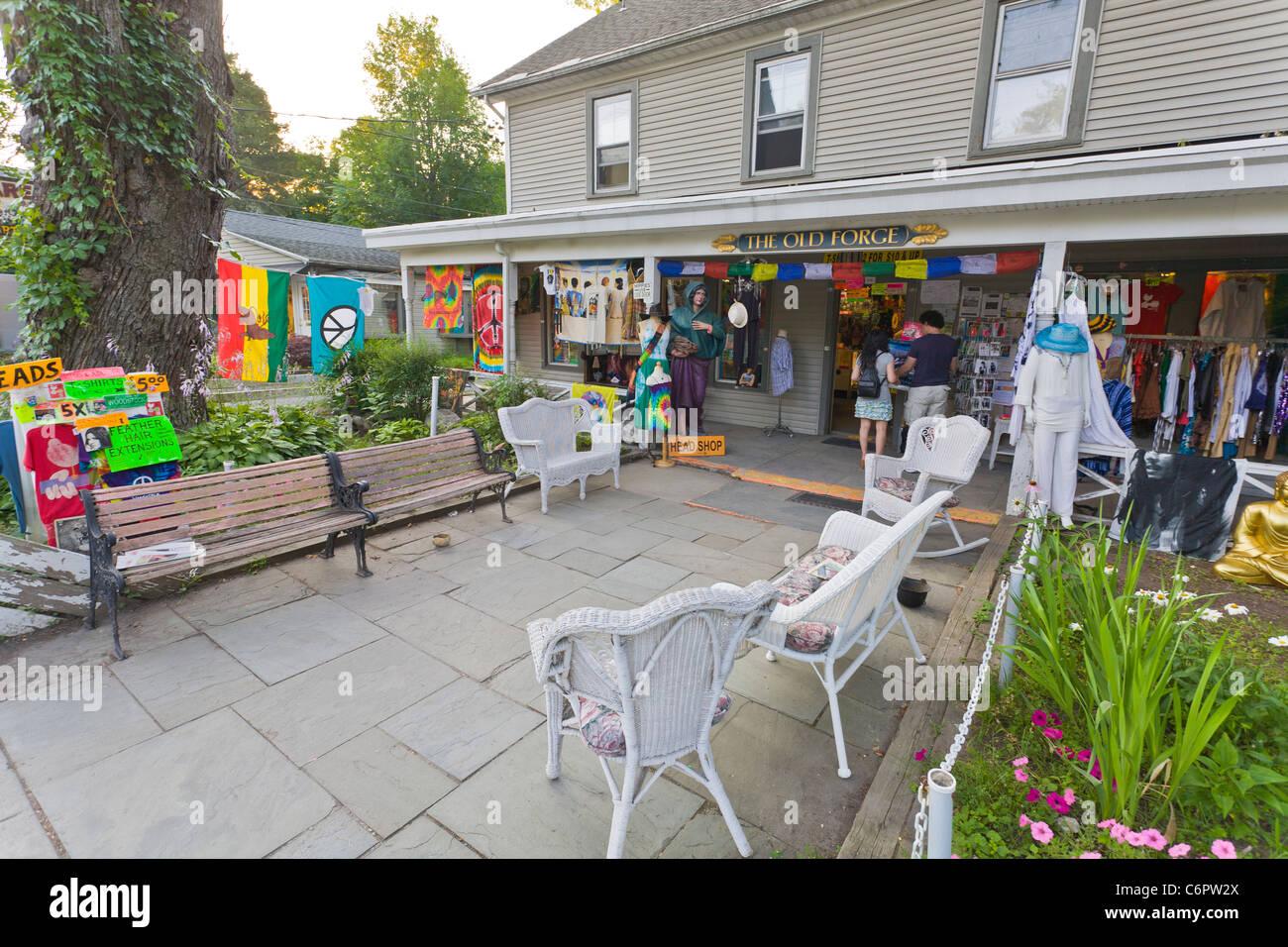 Woodstock Nueva York Imagen De Stock