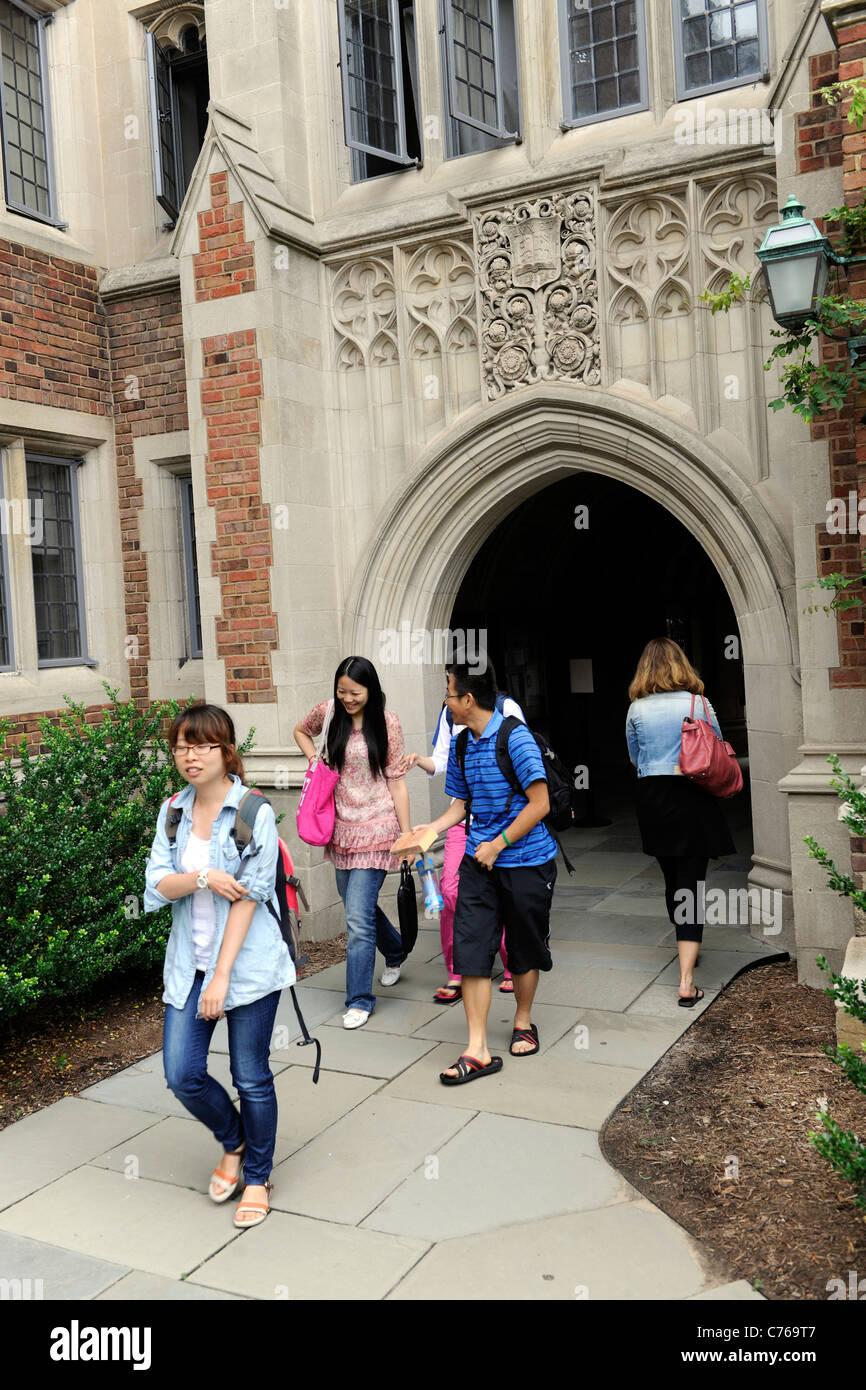 Calhoun colegio residencial. Escuela de Verano de la Universidad de Yale Foto de stock