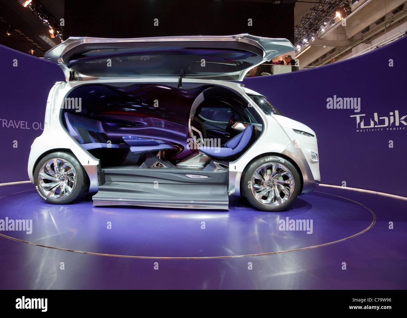 Citroën Tubik Concept Car en el IAA 2011 Salón Internacional del Automóvil de Frankfurt am Main, Imagen De Stock