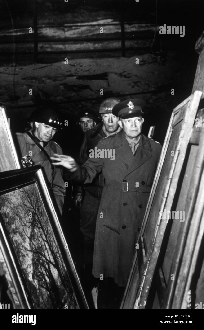 the attack of general dwight d eisenhower to the nazis They are artworks that were stolen from jews by the nazis,  general dwight d eisenhower  younes bendjima attack victim 'planning to.