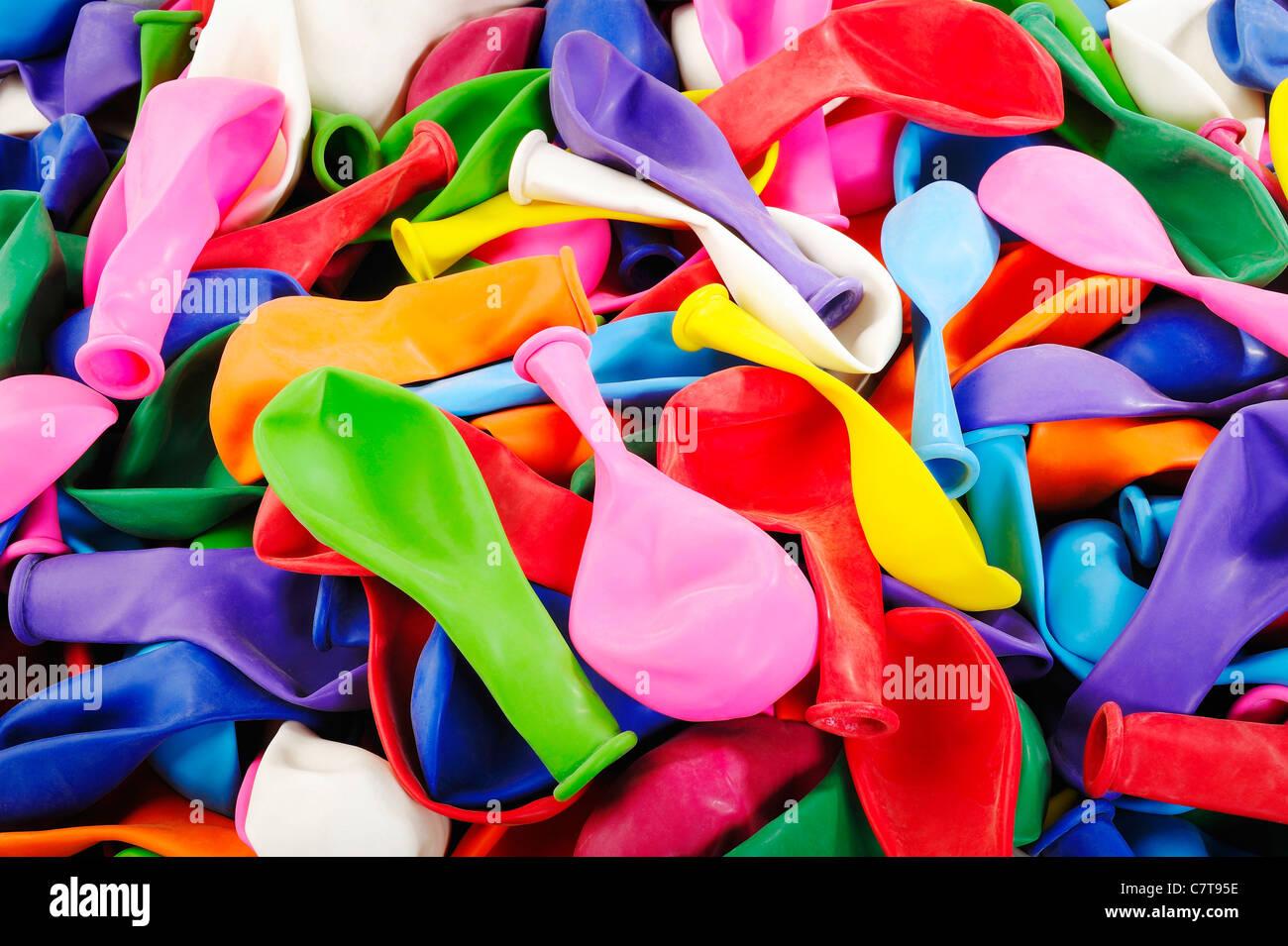 Globos de colores Imagen De Stock