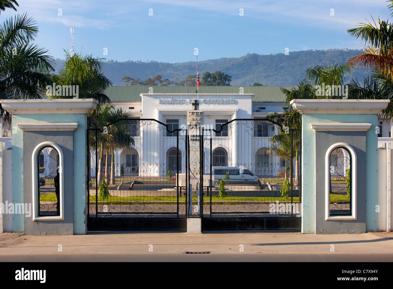 Palacio de Gobierno, Dili, Timor-Leste (Timor Oriental), Asia Foto de stock