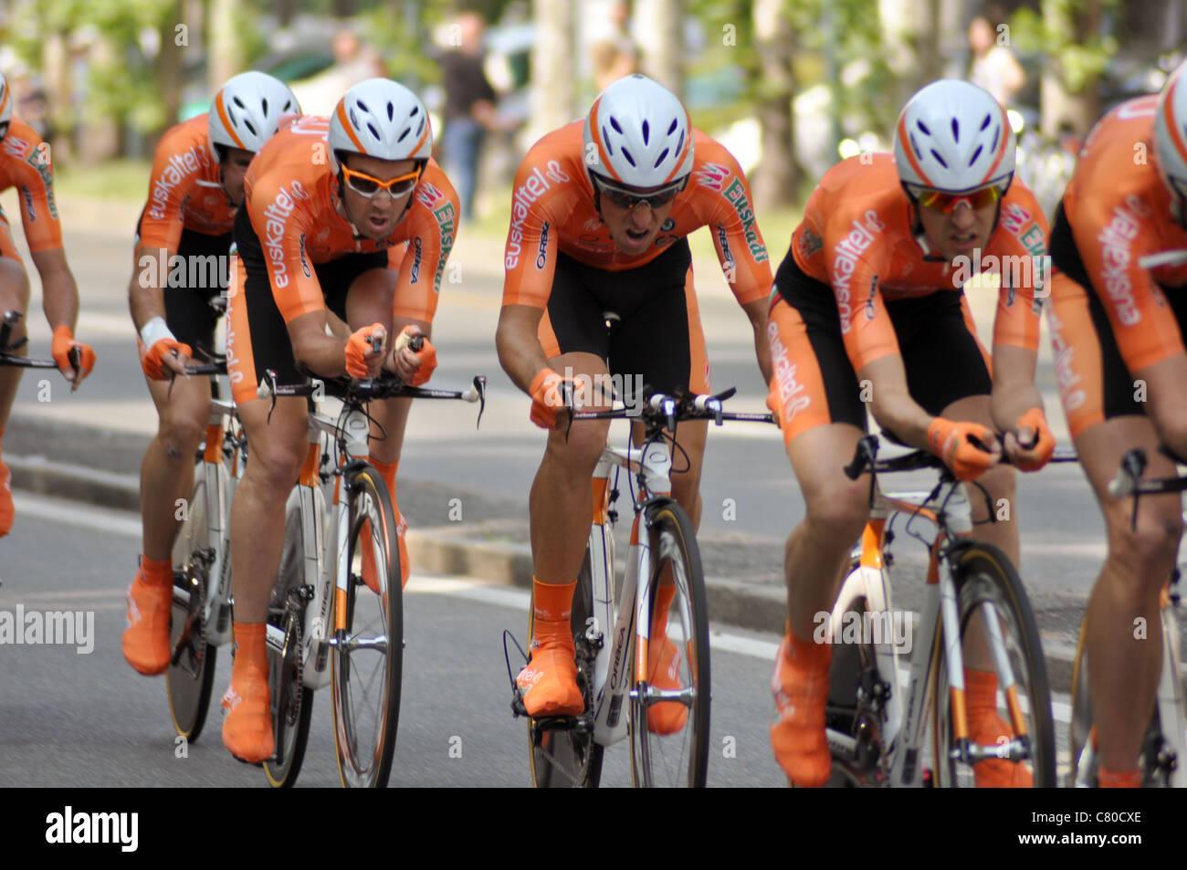 Giro d'Italia 2011. Turín, Piamonte Imagen De Stock