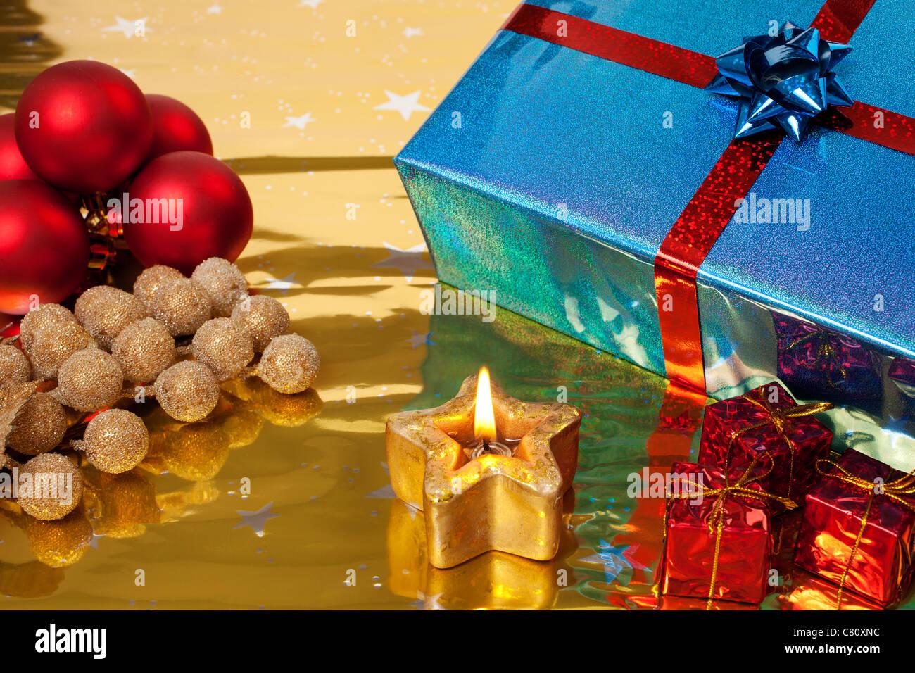 Regalos de Navidad Imagen De Stock