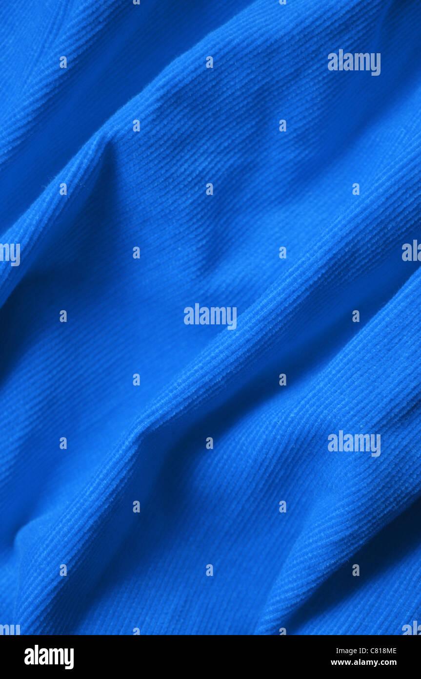Terciopelo azul Foto de stock