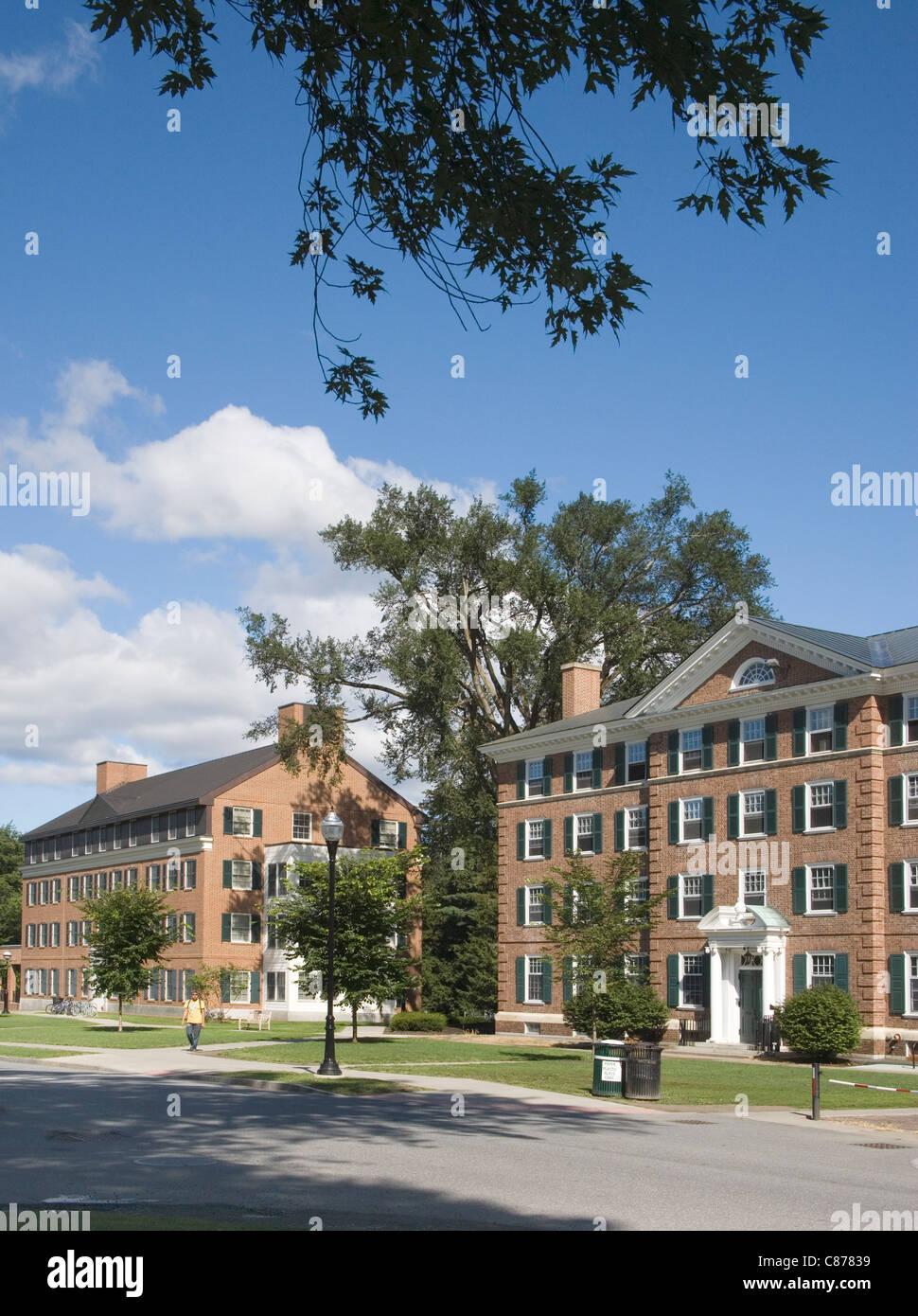 Del Dartmouth College en Hanover New Hampshire Imagen De Stock