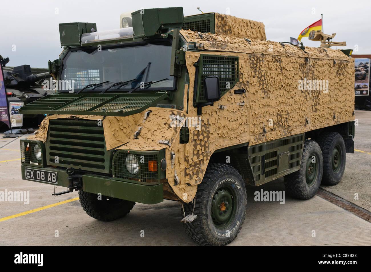 Transportes de tropas blindados vectorial Imagen De Stock