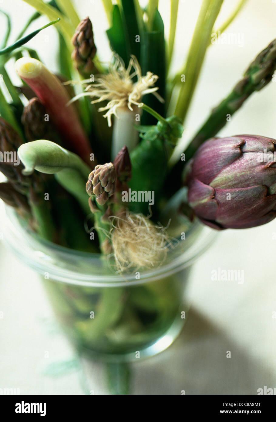 Montón de hortalizas de primavera Imagen De Stock