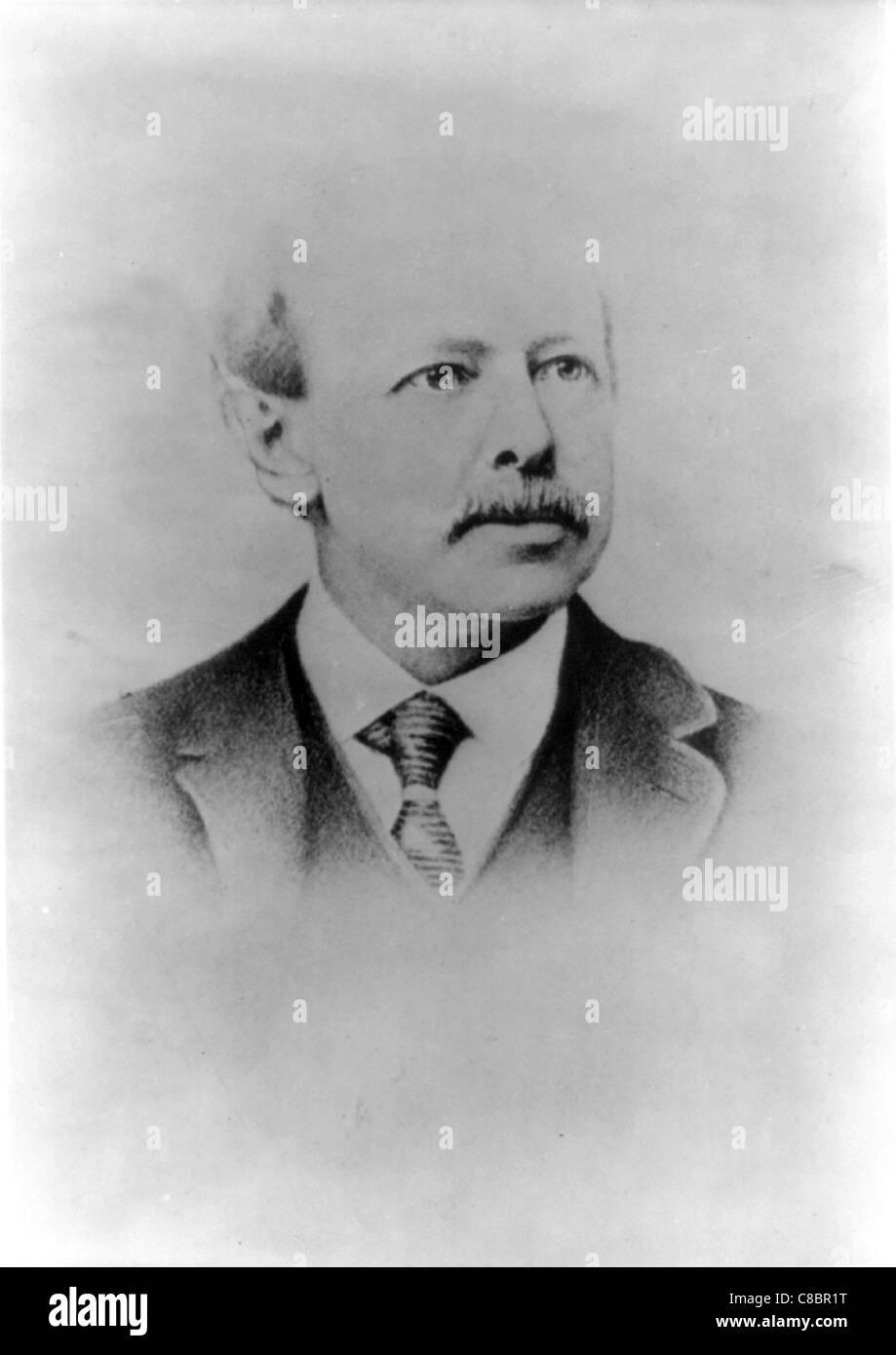 Horatio Alger, Jr. 19th-century autor americano Imagen De Stock