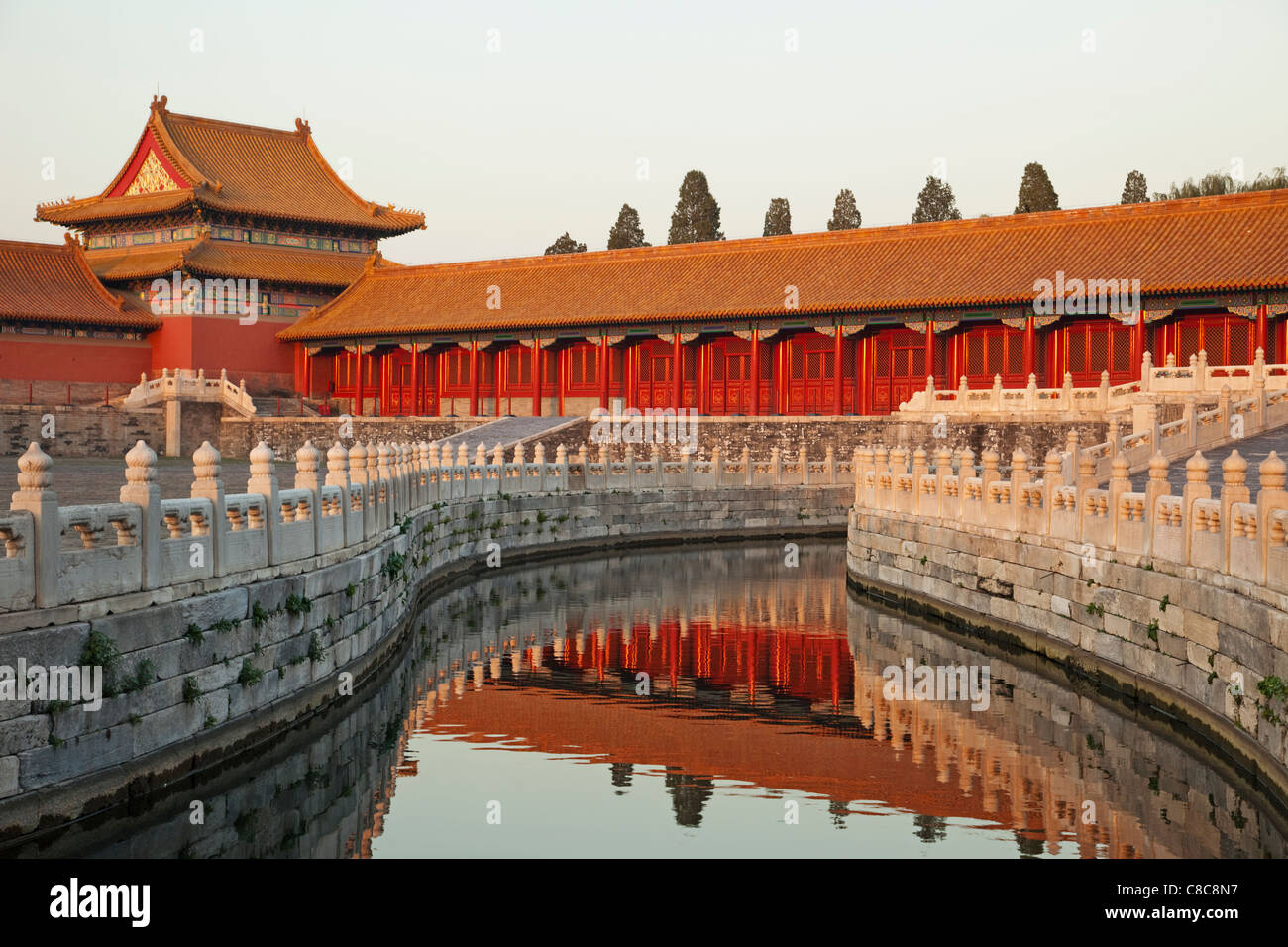 China, Beijing, Museo del Palacio o Ciudad Prohibida. Imagen De Stock