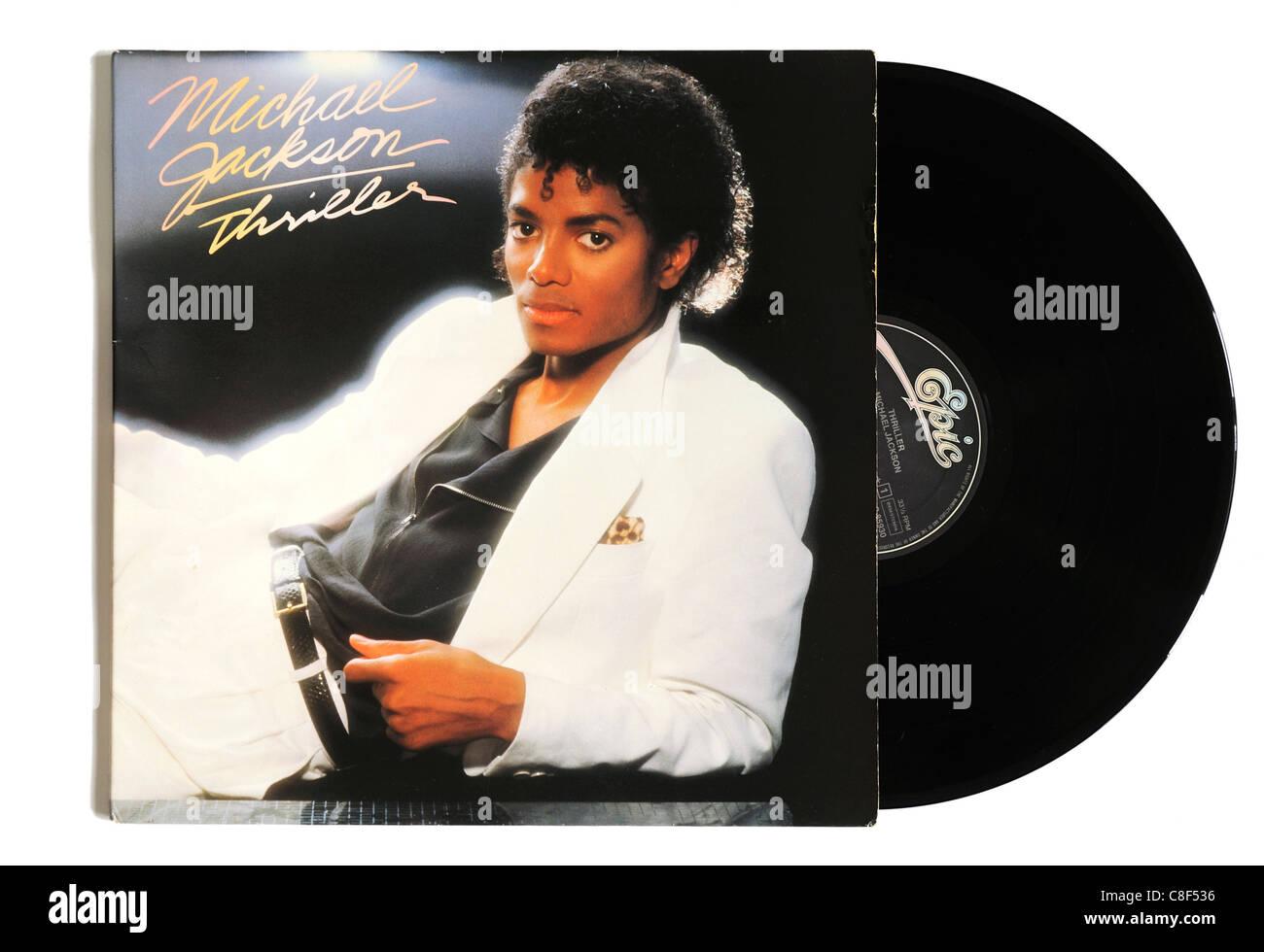 Michael Jackson Thriller álbum Imagen De Stock
