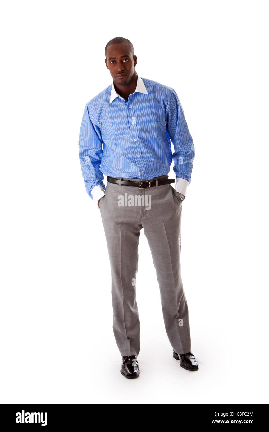 Apuesto hombre de negocios Foto de stock