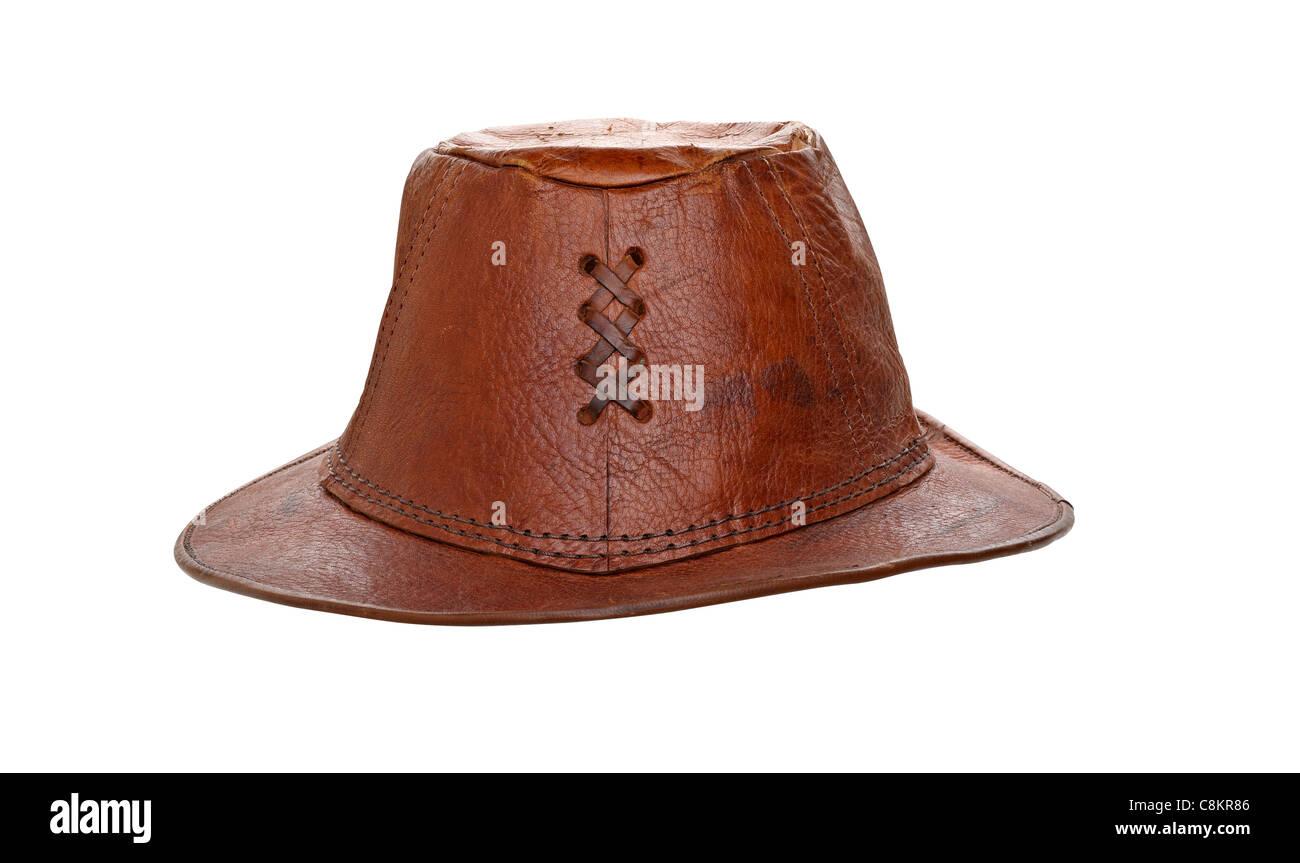 Australian Leather Hat Imágenes De Stock   Australian Leather Hat ... 508a52b8fcc