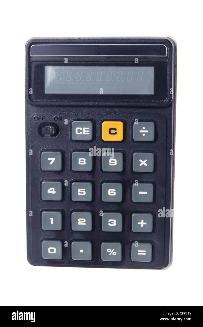 Calculadora de bolsillo Foto de stock