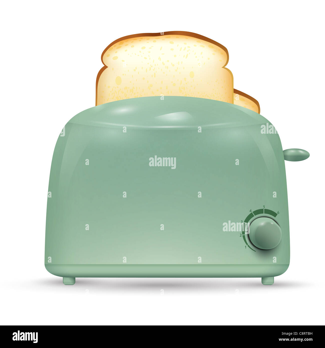 Tostadora de pan Imagen De Stock