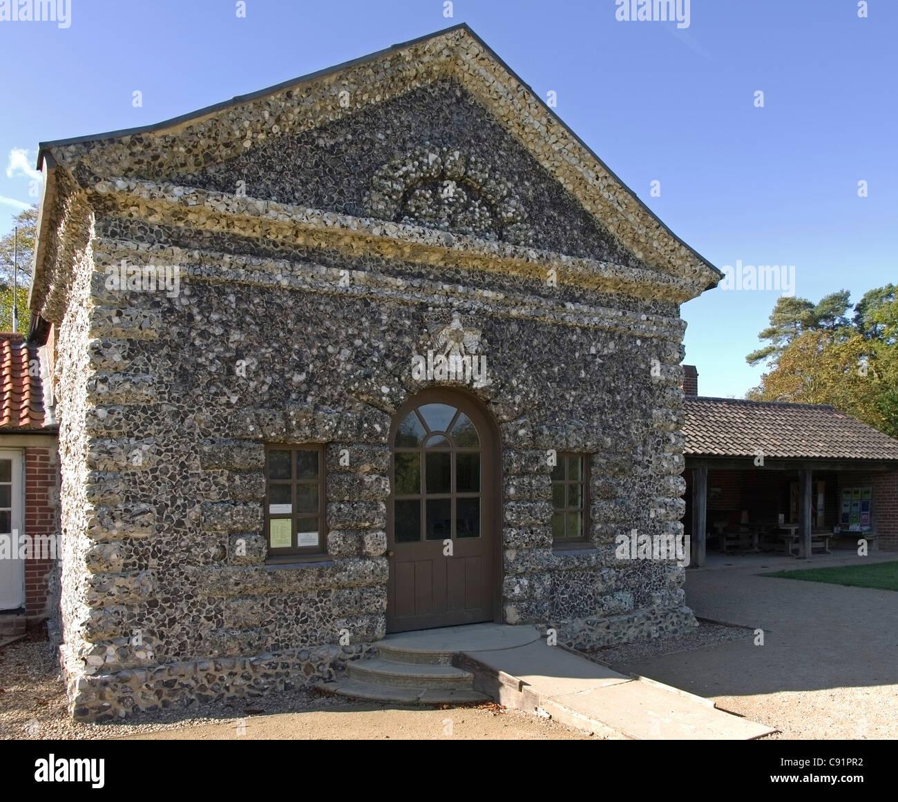 La Casa de las conchas en Hatfield Forest Imagen De Stock