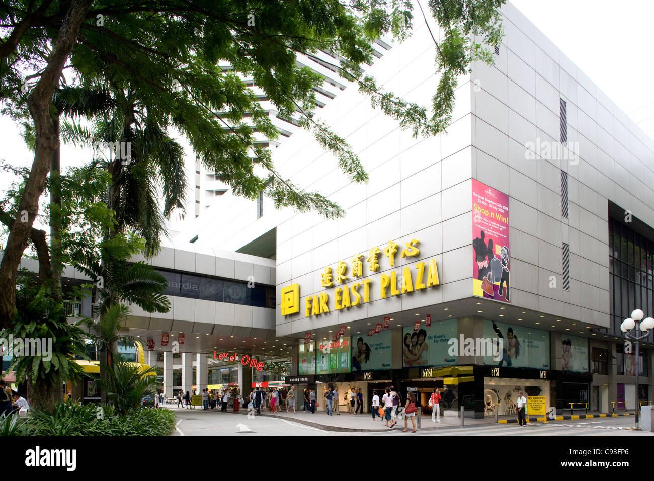 Far East Plaza shopping mall Imagen De Stock