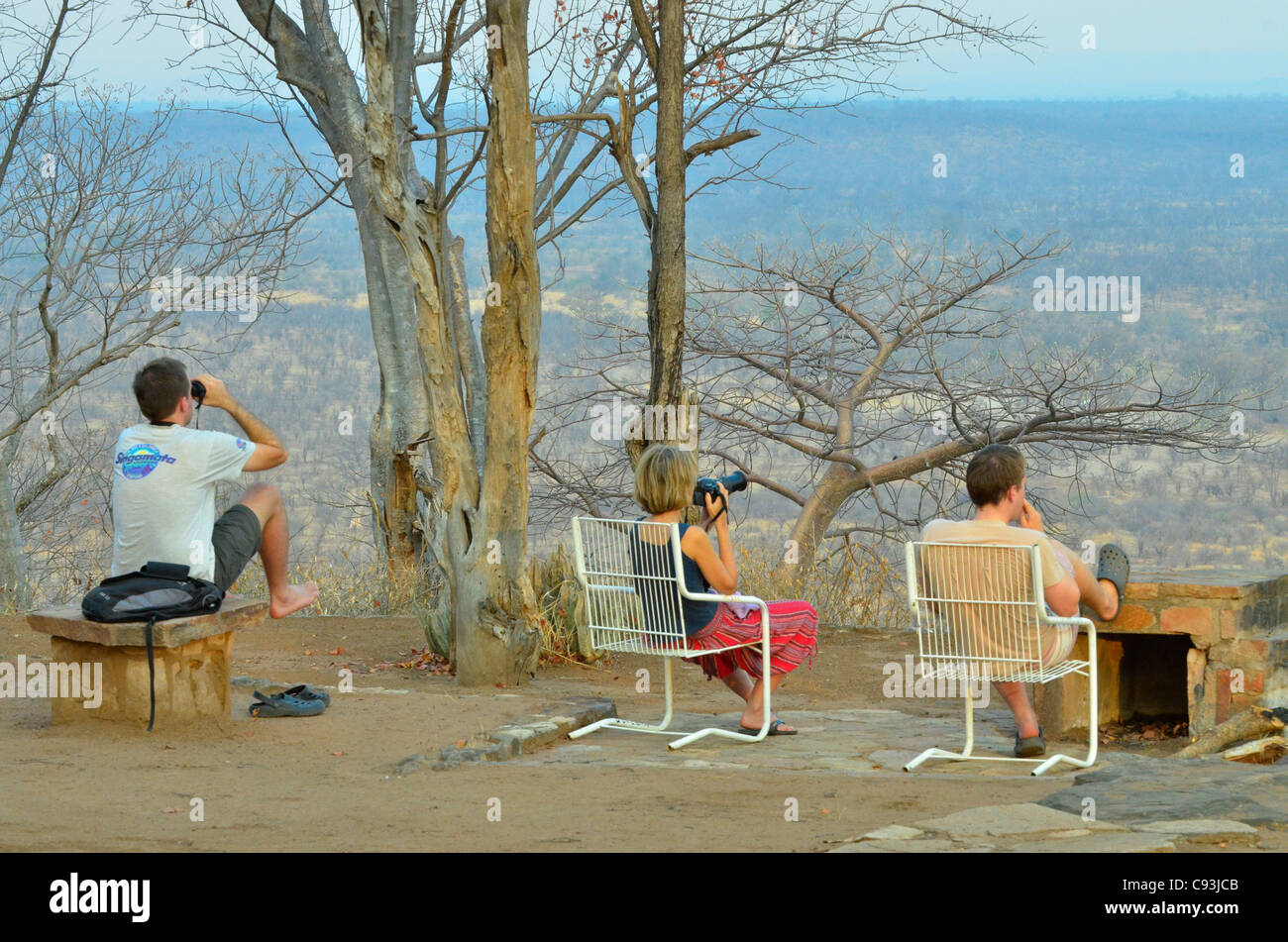 Zimbabwe es un país pequeño con una increíble variedad de paisajes y animales. Imagen De Stock