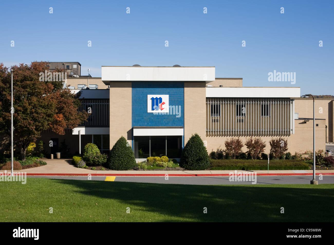 McCormick y sede corporativa de la empresa de la División de Productos de Consumo, Hunt Valley, Maryland Imagen De Stock