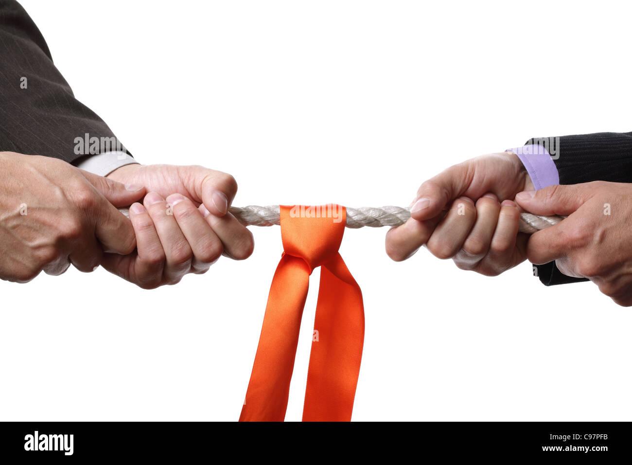 Competencia empresarial Imagen De Stock