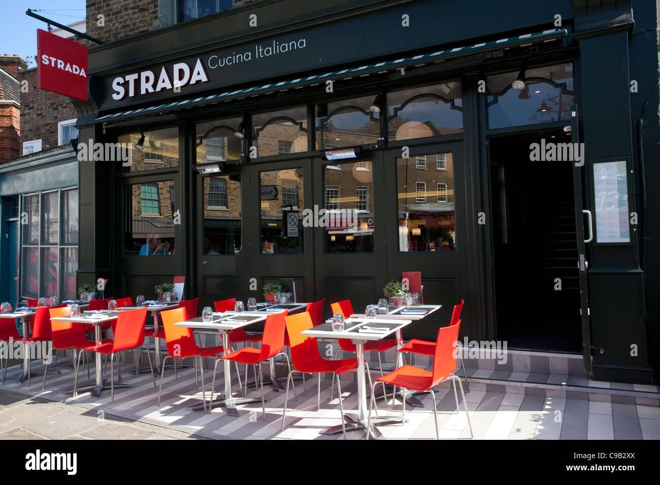 Strada Cucina Italiana. Foto:Jeff Gilbert Imagen De Stock