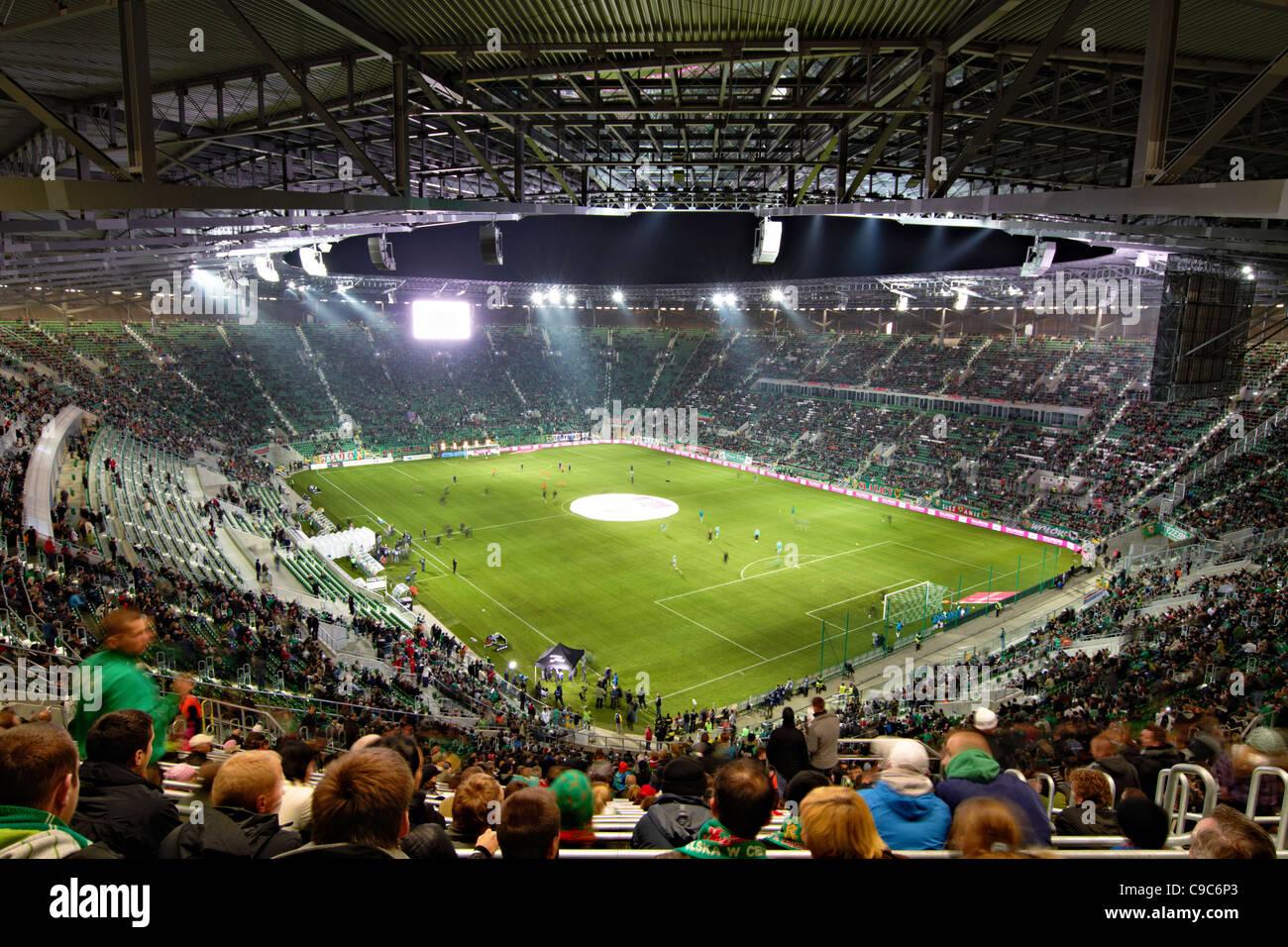 Nuevo Estadio de Wroclaw, Polonia Imagen De Stock