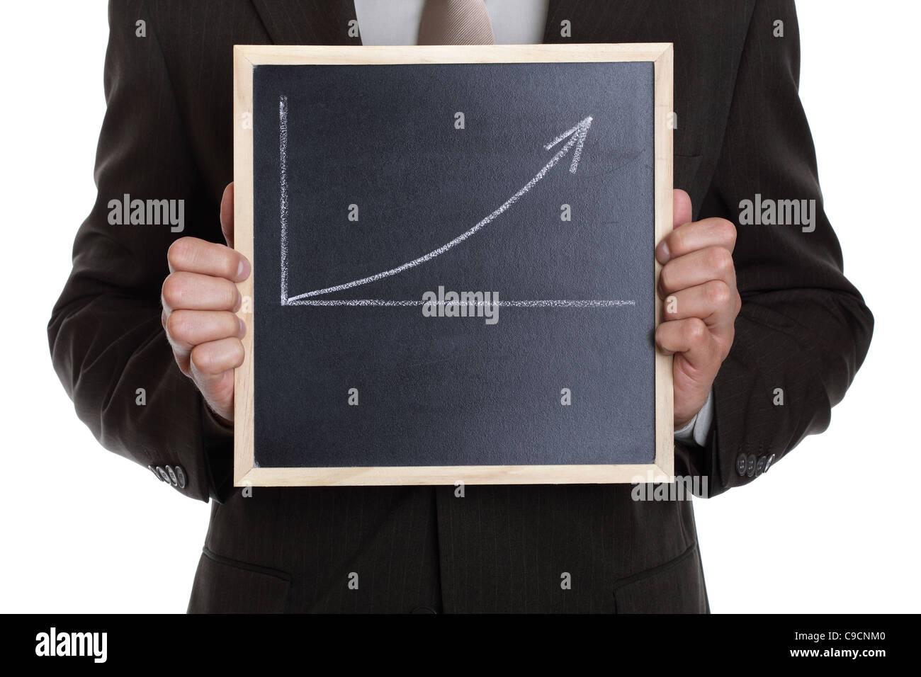 Gráfico de negocios Imagen De Stock