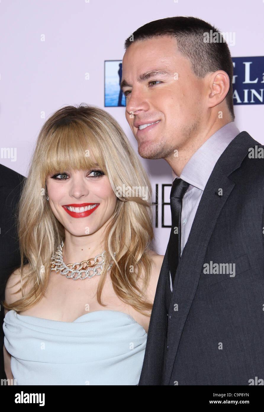 RACHEL MCADAMS y Channing Tatum el voto. Estreno Mundial HOLLYWOOD LOS ANGELES CALIFORNIA ESTADOS UNIDOS 06 Febrero Imagen De Stock