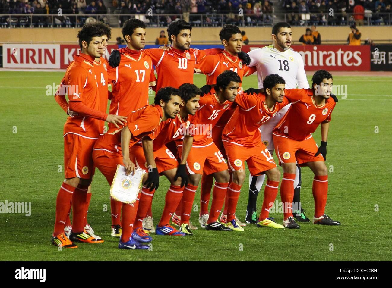 Bahrain National Team Group Line Up Imágenes De Stock   Bahrain ... 65dfd9fdf662a