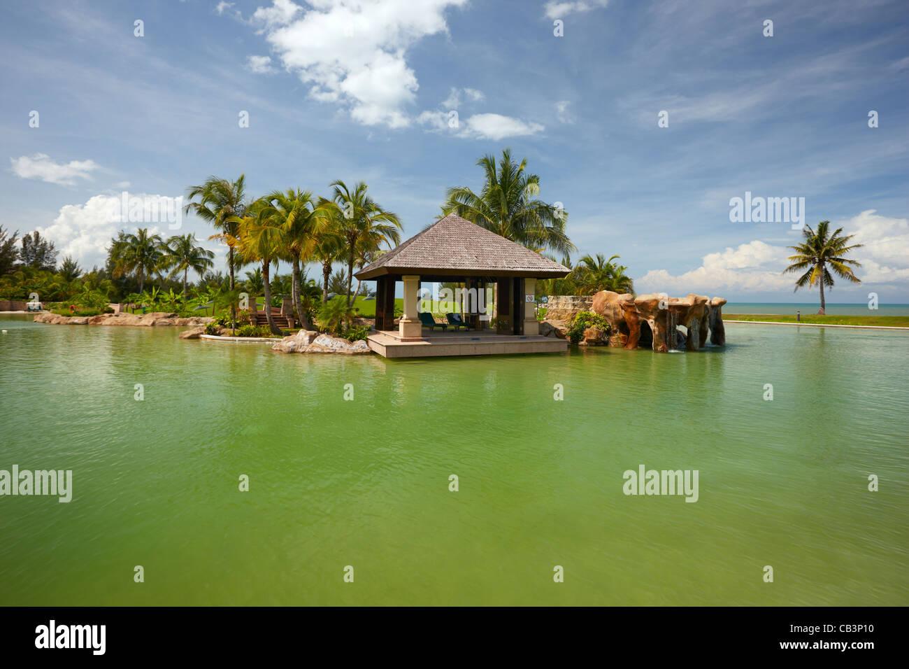 El Hotel Empire, Jerudong, Brunei Darussalam, Borneo, Asia Foto de stock
