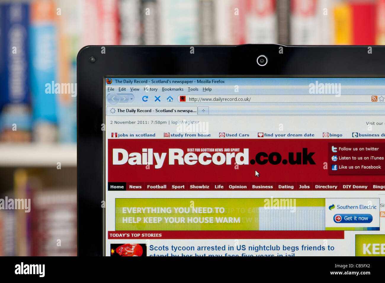 Daily record dating site