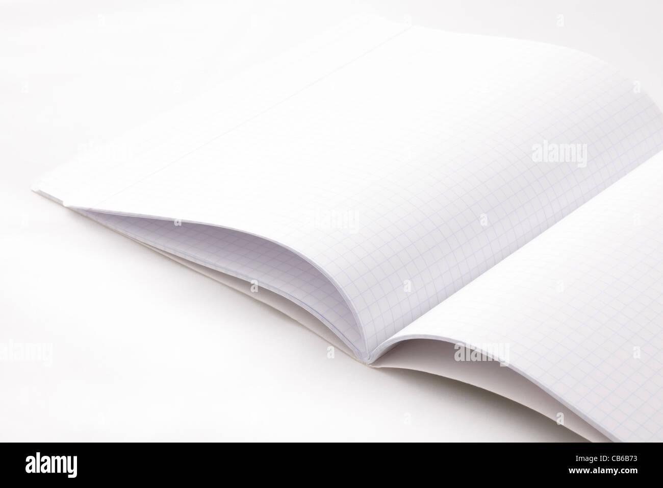 Fondo cuaderno cuadriculado