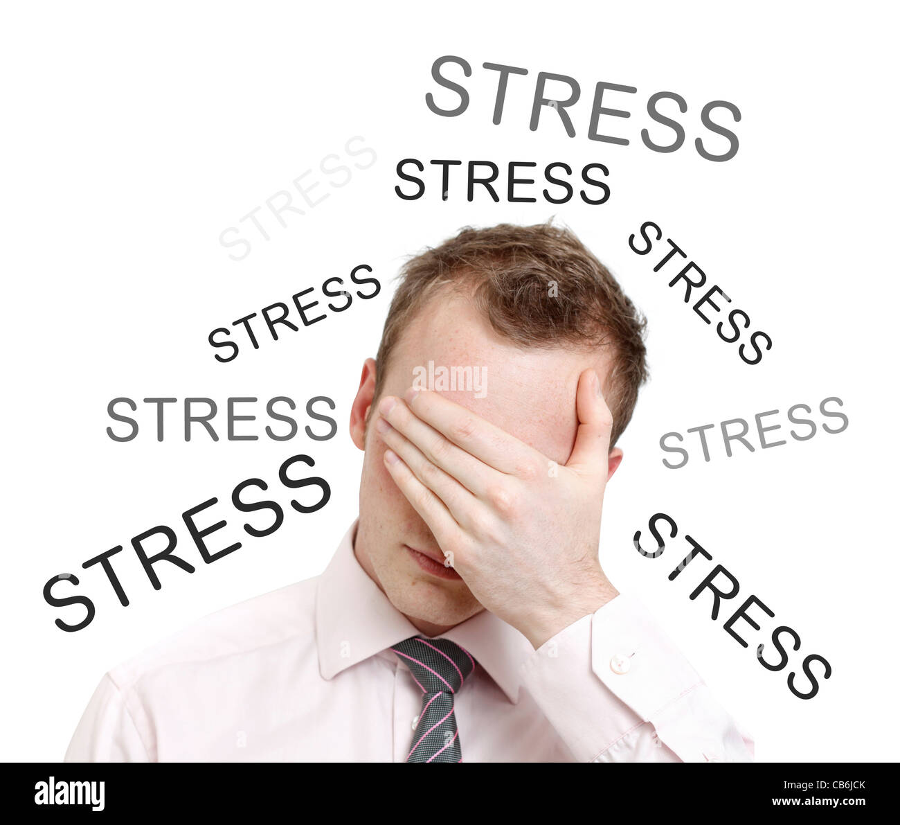 Estrés Imagen De Stock