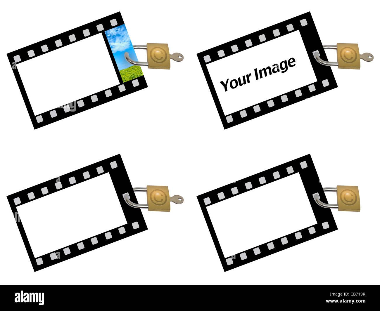 Derechos de autor Foto de stock