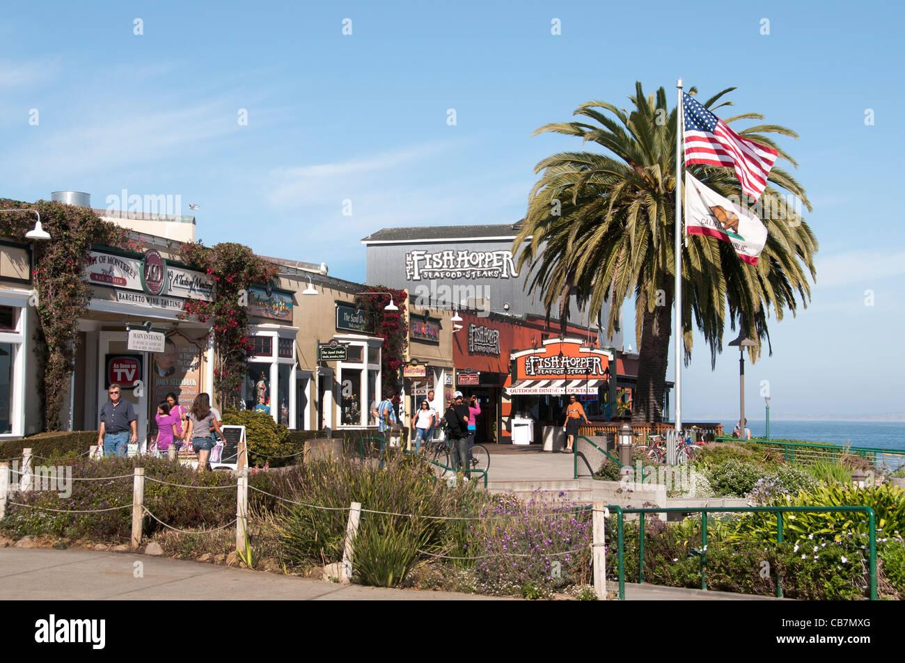 La empresa conservera de Monterey California Estados Unidos Imagen De Stock