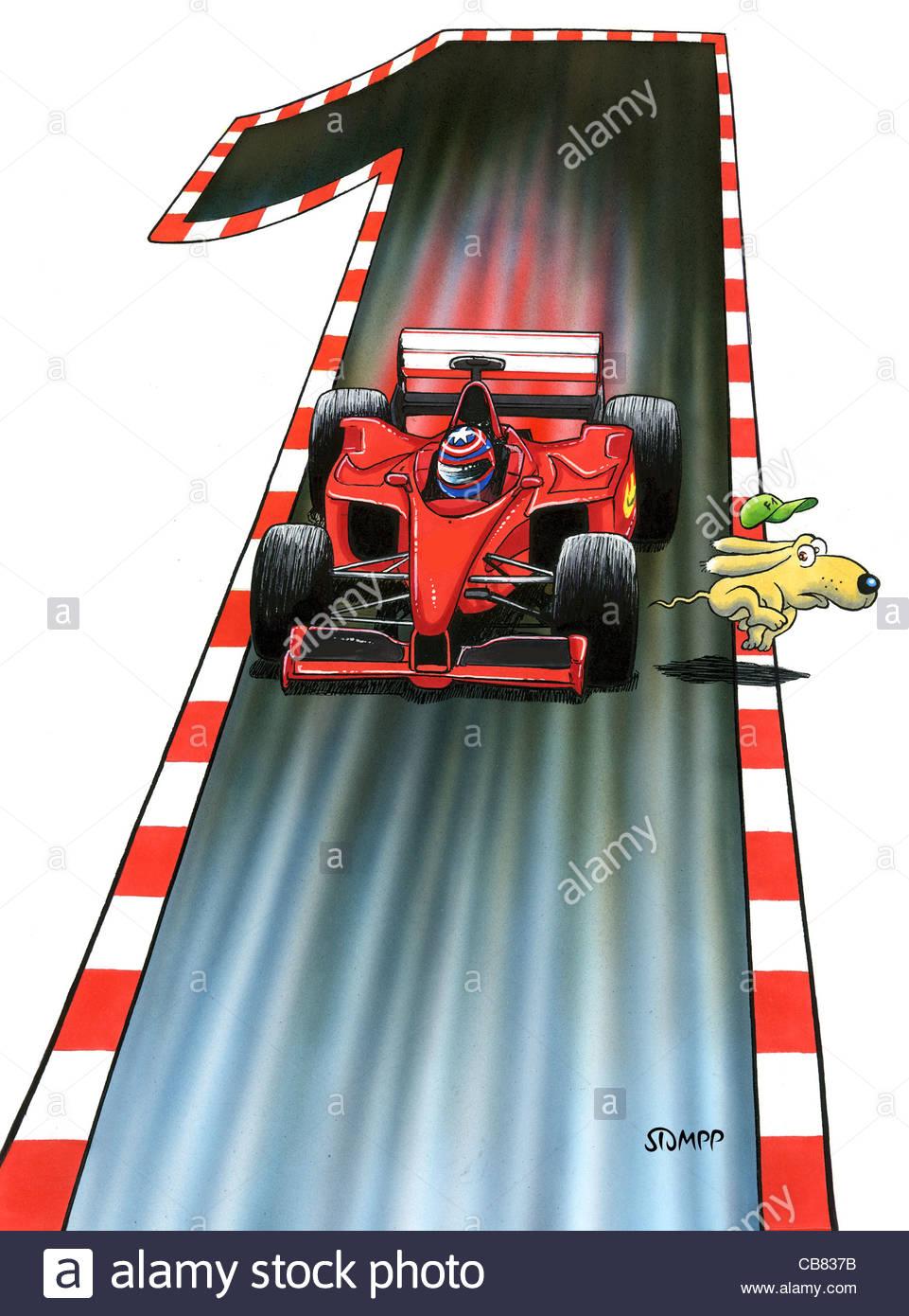 Fórmula 1 Motor Sport Imagen De Stock