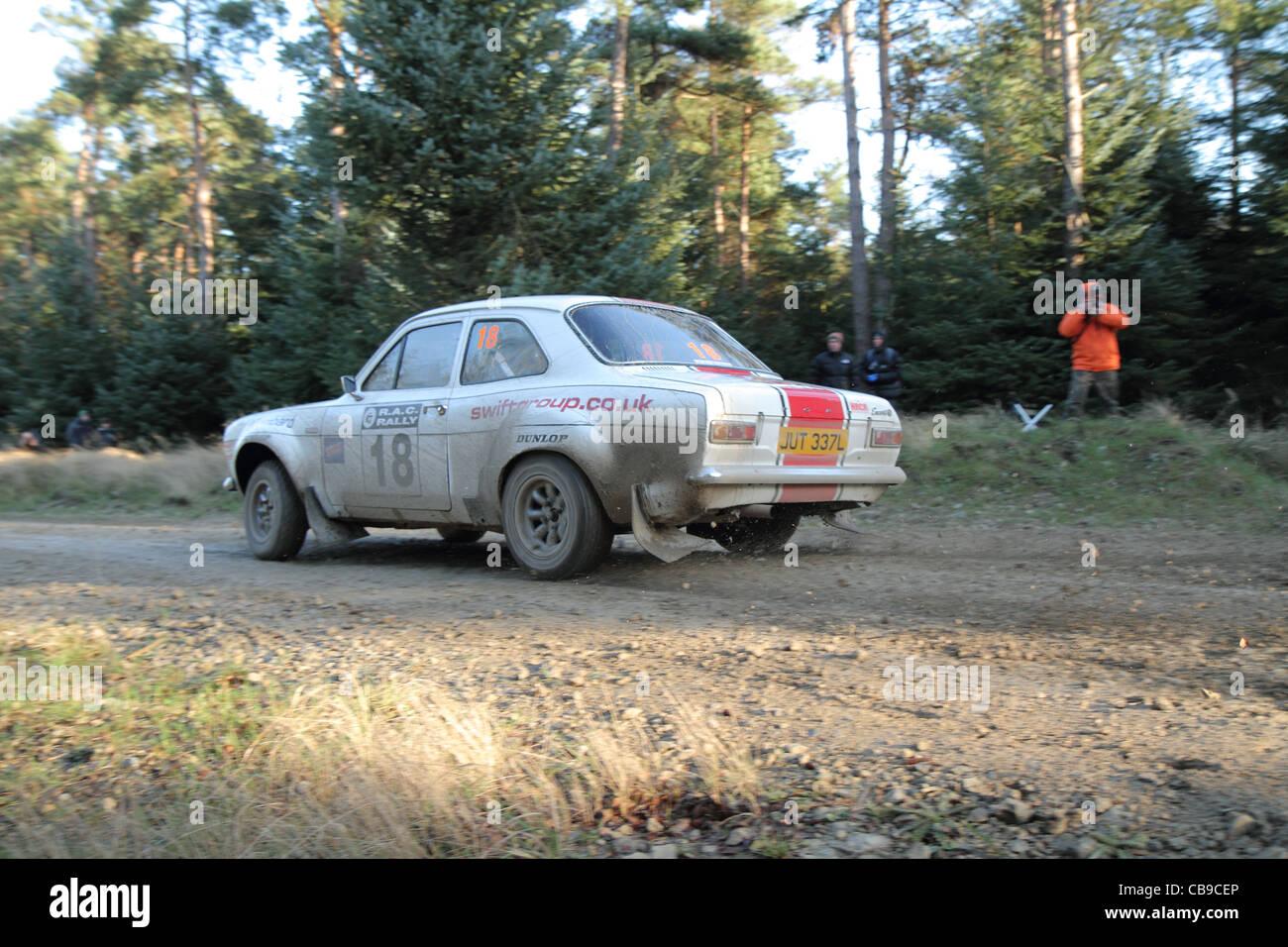 Motor Sport Rally Cars Imagen De Stock