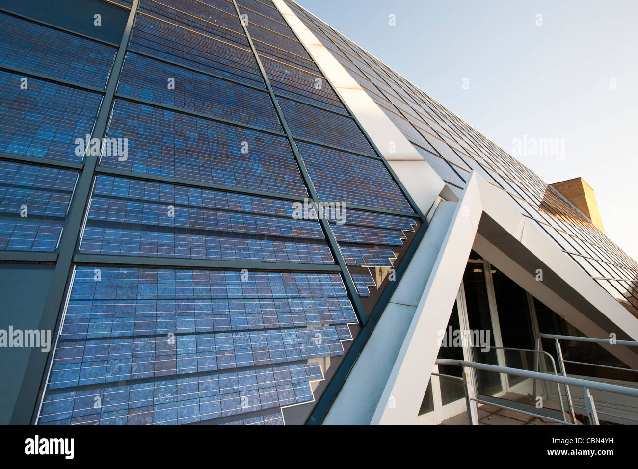 La oficina solar Doxford, en las afueras de Sunderland. Imagen De Stock