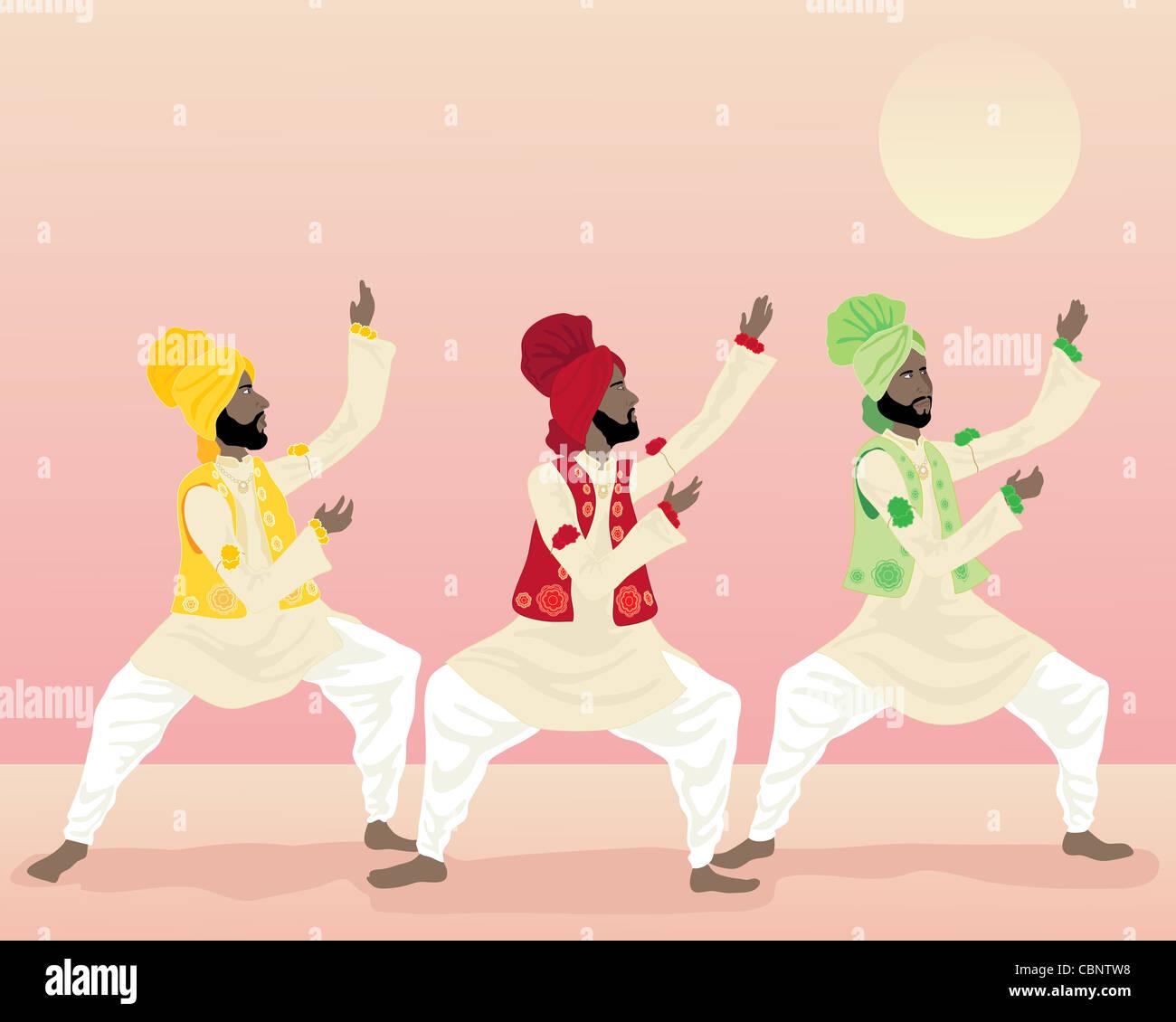 Punjabi Dancing Imágenes De Stock & Punjabi Dancing Fotos De Stock ...