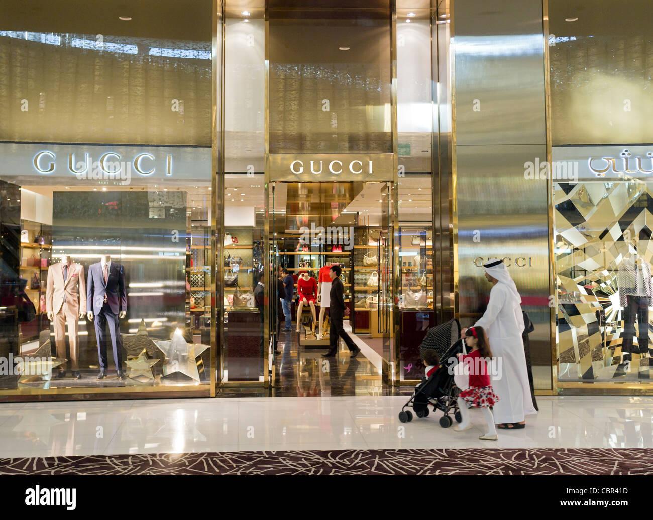 Tienda de Gucci en Dubai Mall en Dubai 7cb5e330275