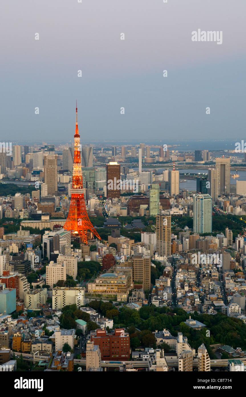 La Torre de Tokio Tokio, Japón Imagen De Stock